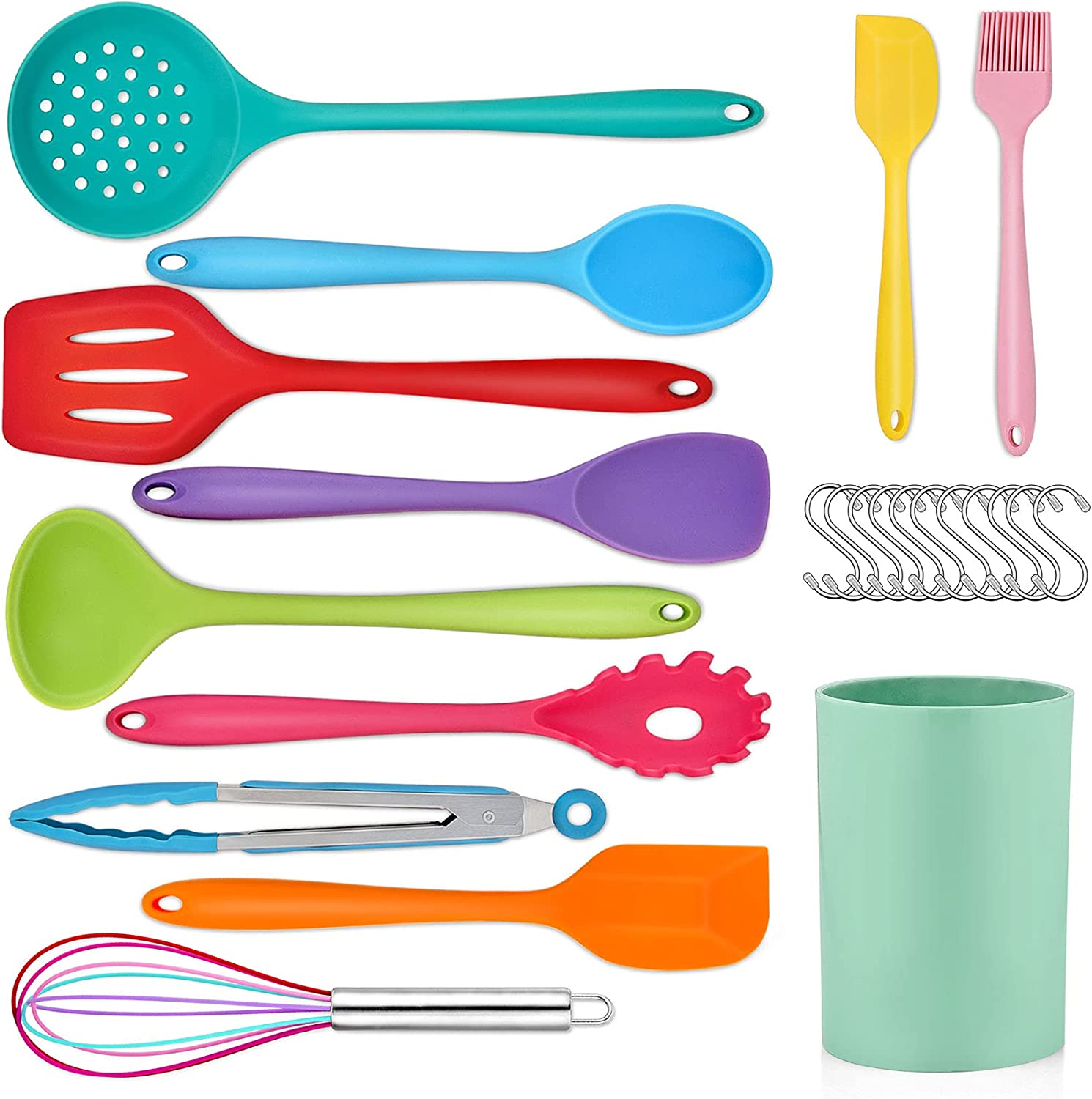 Mail order Kitchen Utensil Set PP CHEF 23 Silicone Super beauty product restock quality top! K Cooking Pcs Utensils