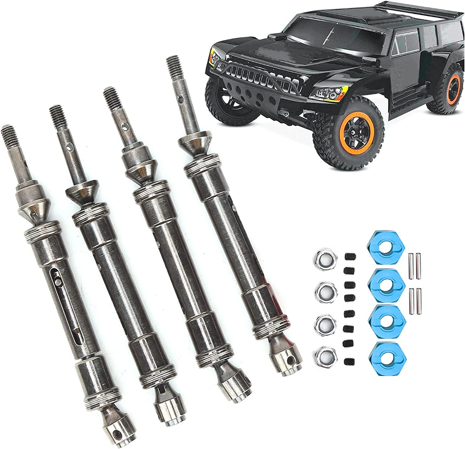 Luroze Drive ! Super beauty product restock quality top! Shaft and Connector Beatiful RC Car Atlanta Mall Set Ligh