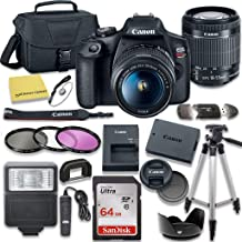 $429 » Canon EOS Rebel T7 DSLR Camera Bundle with Canon EF-S 18-55mm f/3.5-5.6 is II Lens + SanDisk 64GB Memory Card + Accessory Kit