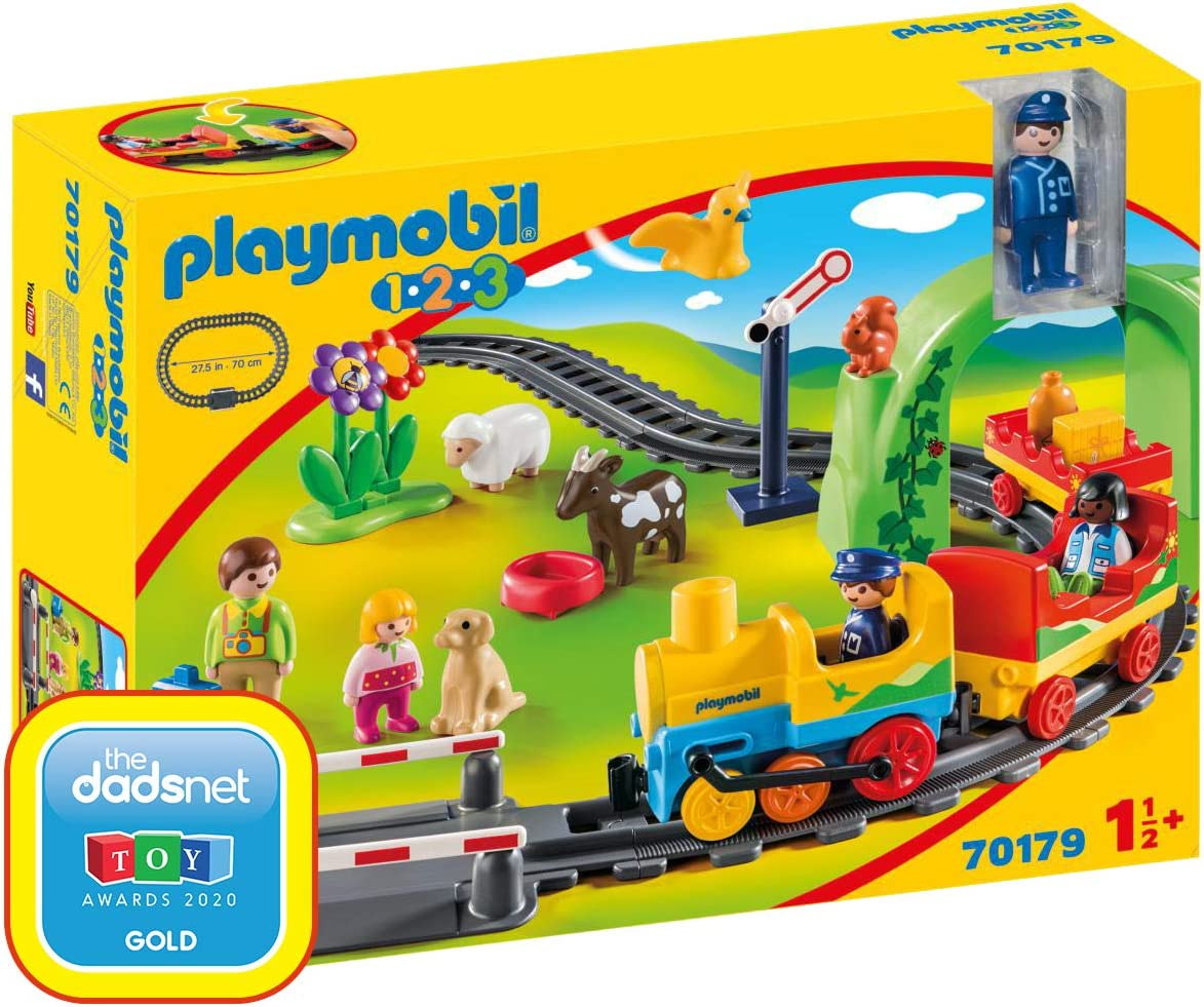 Playmobil Cheap mail Limited time cheap sale order specialty store 1.2.3 My Train Set First