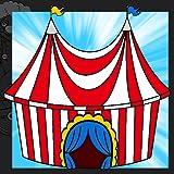 Libro da colorare del circo...
