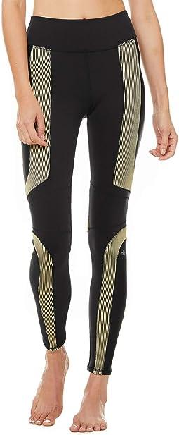 High-Waist Electric Leggings