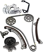 MOCA Timing Chain Kit with Water Pump Oil Pump for 1998 Toyota Corolla & Chevrolet Prizm 1.8L L4 DOHC 16V 1ZZFE