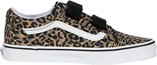 (Animal Checkerboard) Leopard/Black