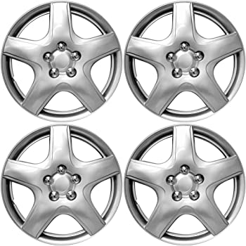 Amazon Com Overdrive Brands Chrome 15 Hub Cap Wheel Covers For