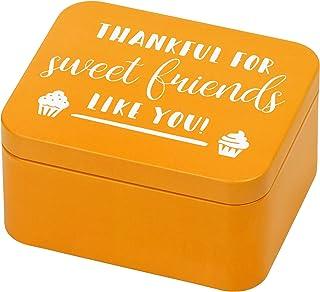 RBV Birkmann 438095 Colour Kitchen Boîte cadeau en fer blanc Orange