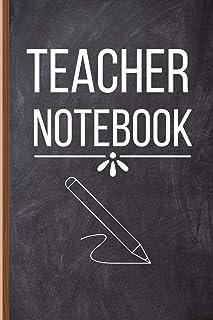 Teacher Notebook: Teacher Gifts for Men and Women - Teacher Notebook Journal to Write In for Male Teachers, Maths Teacher,...