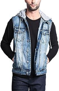 8ce5b3849c Victorious G-Style USA Rocker Denim Jean Vest