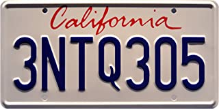 Celebrity Machines The Fast and The Furious | 3NTQ305 | Stamped License Plate