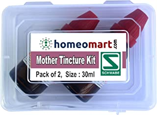 Nux Vomica Q, Homeopathic Mother Tincture Kit, Value Pack of 2 from Schwabe (30ml Each)