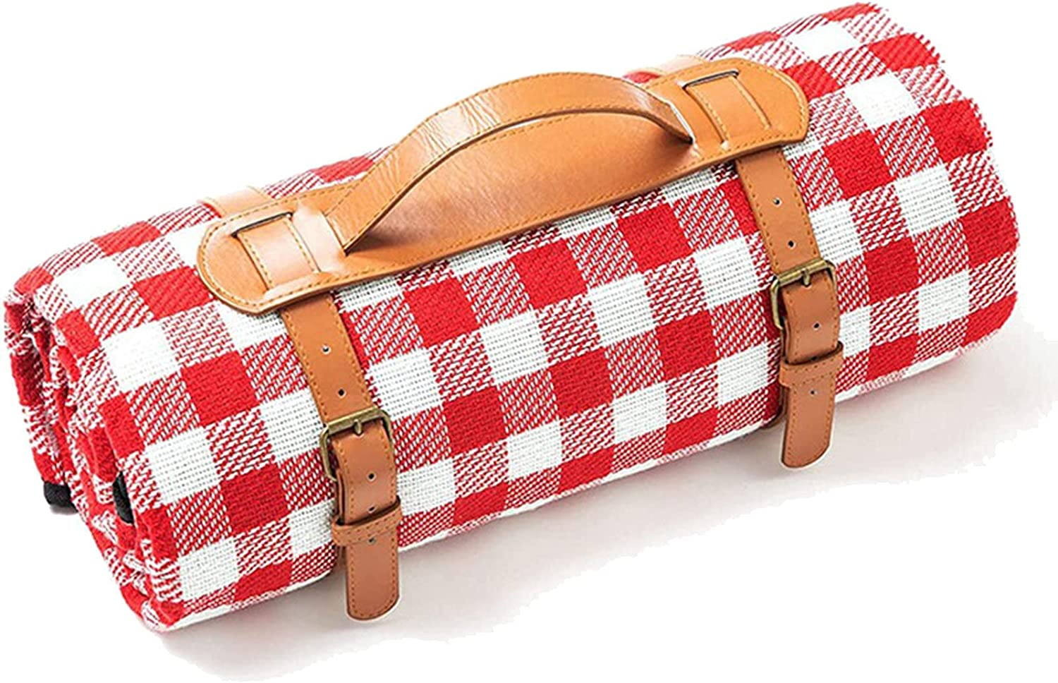 DZGN Large Picnic Blanket Fort Worth Sale special price Mall Outdoor Mat Waterproof Backing