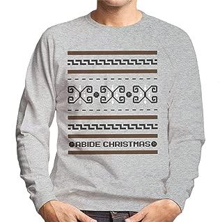 The Big Lebowski The Dude Abides Christmas Men's Sweatshirt