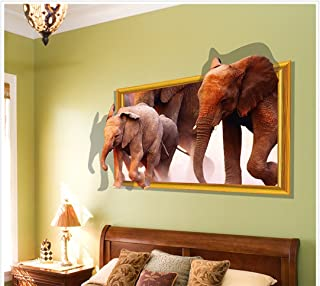 elephant chalkboard wall decal