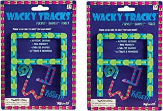 Toysmith (2 Pack) Bundle Savers! Wacky Tracks