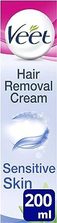 Veet Hair Removal Cream for Sensitive Skin, 200 ml