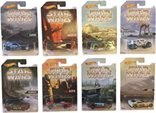 Hot Wheels, Star Wars, 2016 Worlds of Star Wars Bundle Set of 8 Die-Cast Cars