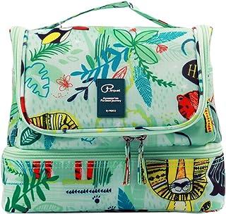 Beauty Case da Viaggio Borsa da Toilette Tuscall Borsa da Viaggio Impemeabile Ripiegabile Cosmetico Bag per Donna & Uomo e...