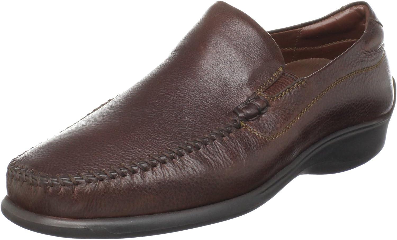 Neil M Men's Rome Slip-On Loafer,Walnut,15 D