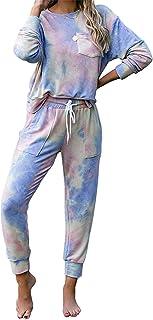 N-B Women's Pajamas Set, Casual Leopard Print Home Wear, Women's Pajama Pants, Pajamas Home Set, Two-Piece Pajamas