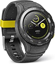 Huawei Watch 2 Sport Smartwatch – Ceramic Bezel – Concrete Grey Strap (US Warranty)