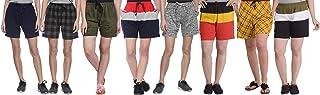 SHAUN Women's Cotton Shorts (Pack of 8)