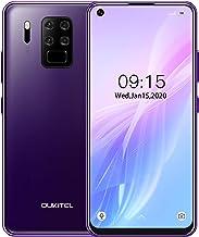 Teléfono Móvil 4G OUKITEL C18 Pro (2020), Cámara 16MP + 8MP + 5MP + 2MP, 6.55 '' Full HD Smartphone Libre, Helio P25 Octa Core 4GB+64GB, 4000mAh Desbloqueo Facial + Huella Digital Dual SIM Púrpura