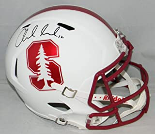 Andrew Luck Signed Autographed Stanford Cardinal Full Size Speed Helmet Panini - Panini Certified - Autographed College Helmets