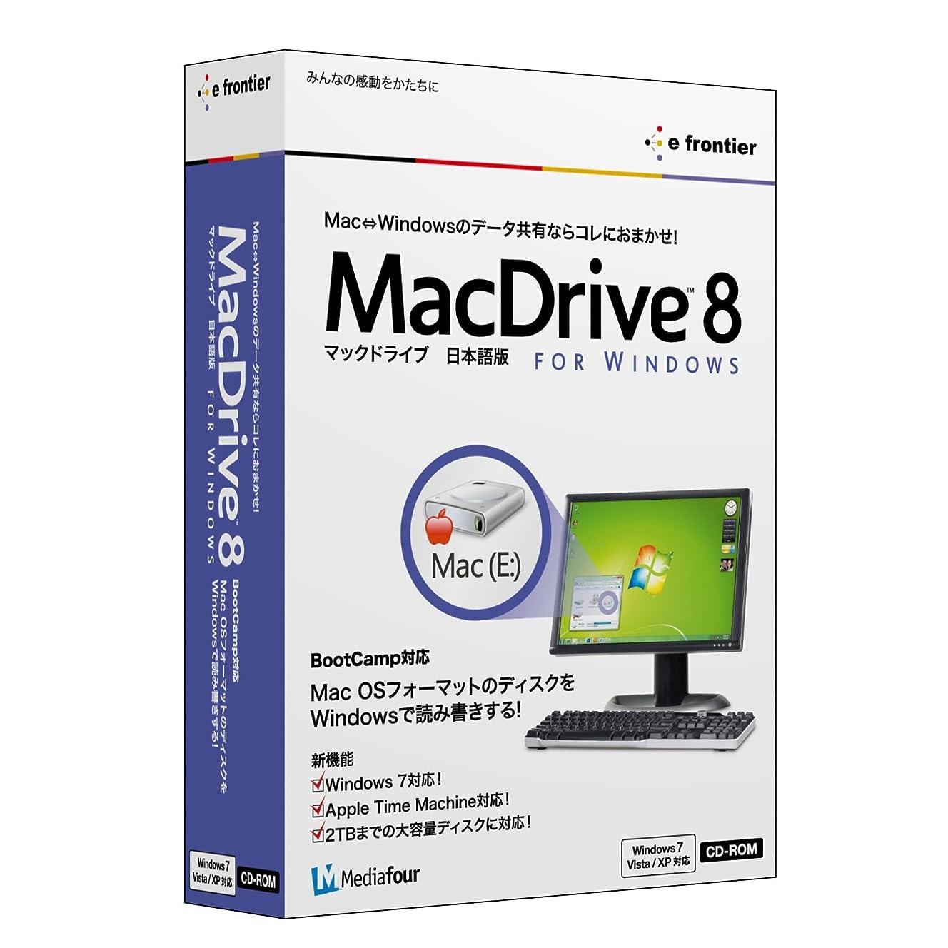 メドレー会話型ナットMacDrive 8 日本語版