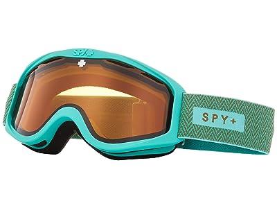 Spy Optic Cadet (Herringbone Mint Persimmon) Goggles