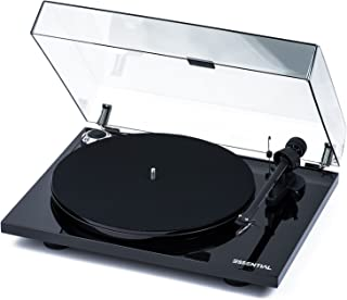 Pro-Ject Essential III Belt-Drive Turntable with Ortofon OM10 Cartridge (Piano Black)
