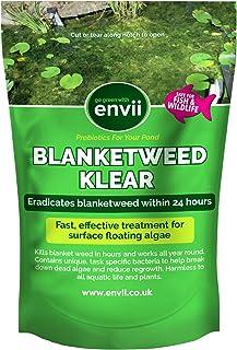 Envii Blanketweed Klear – Tratamiento para algas filamentosas Elimina algas flotantes en 24 horas - 600g