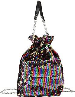 Best sequin bucket bag Reviews