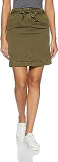 VERO MODA Women's A-Line Knee-Long Skirt