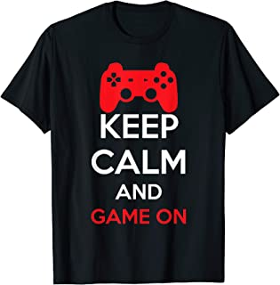 Best keep calm and game on shirt Reviews