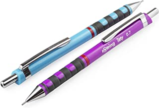 Pentel P205 Lot de 3 crit/ériums rechargeables avec gomme Noir S/érie P200/P205-A 0,5/mm