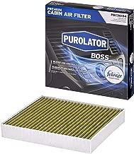 Purolator PBC36154 PurolatorBOSS Premium Cabin Air Filter with Febreze Freshness