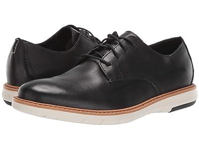 Clarks Draper Lace (Black Leather) Men