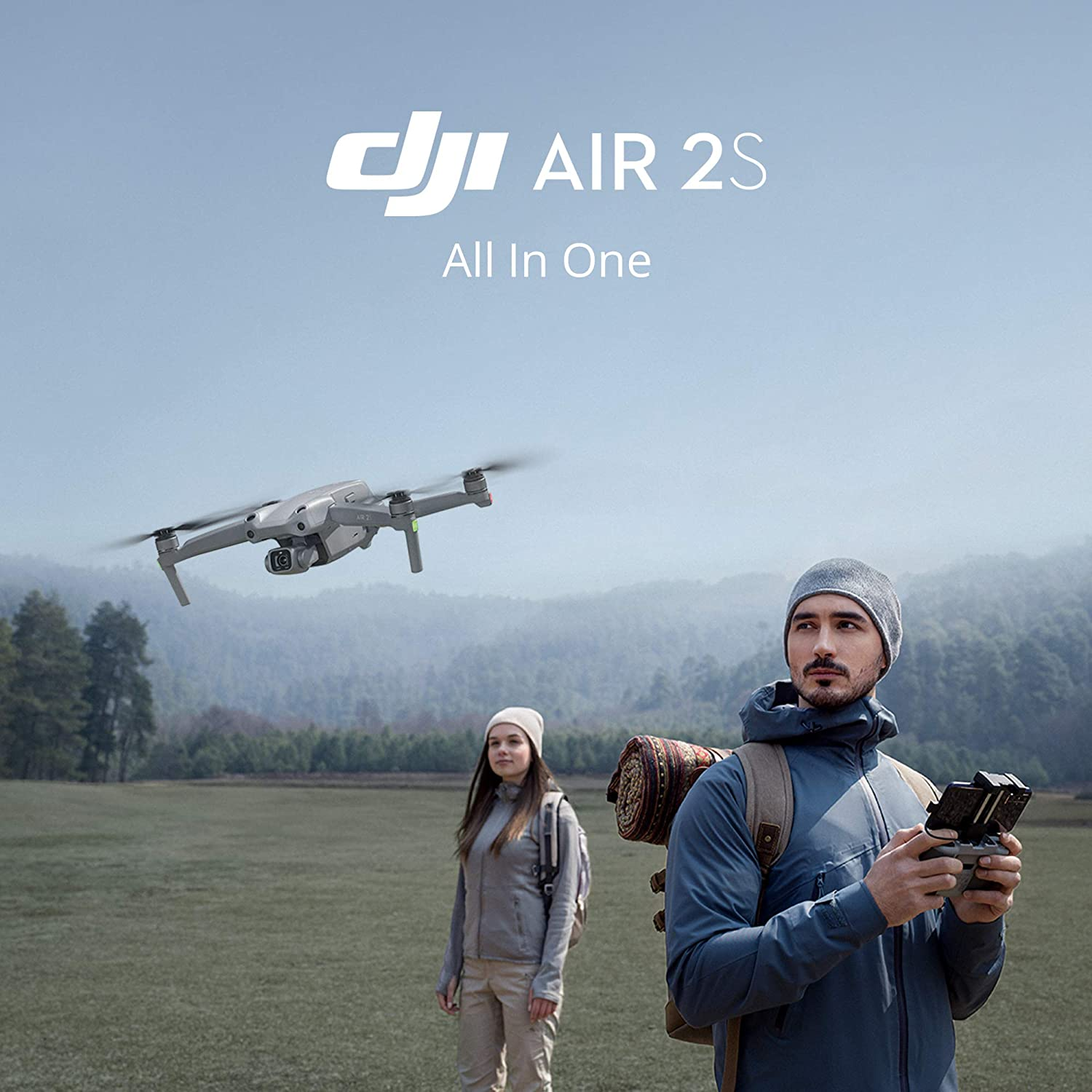 DJI Air 2S Drone - Flying the drone