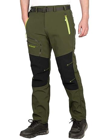 Montane Uomo Terra Pantaloni Arancione Sport All/'aperto Impermeabile Traspirante