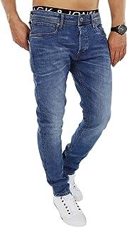Jack & Jones Men's Slim Fit Jeans Denim Used Look