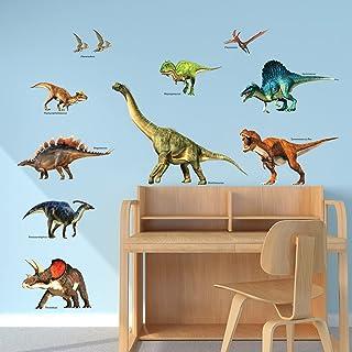 DECOWALL DWL-2012 Dinosaure Autocollants Muraux Mural Stickers Chambre Enfants Garderie Salon wall adhsif maison dcalcomanies