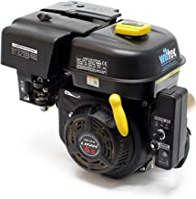 WilTec Motor de Gasolina LIFAN 168 4.8kW (6.5PS) 4-Tiempos 20mm refrigerado por Aire E-Start
