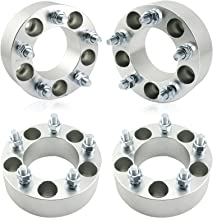 OrionMotorTech 5x4.75 Wheel Spacers 2 inches with 12x1.5 Studs for Chevy Corvette Camaro S10 S15 GMC Jimmy Sonoma Typhoon, Cadillac Oldsmobile Pontiac, 4pcs