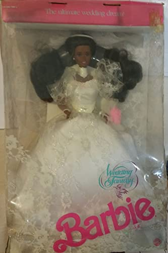 Mattel Wedding Fantasy Barbie 1989 African american