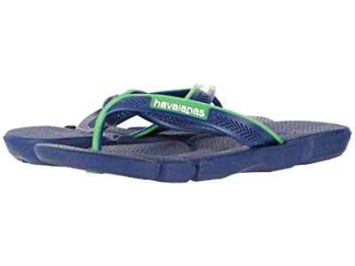 Havaianas Power Flip Flops (Navy Blue/White) Men