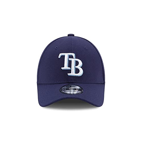 new concept 019e0 6735a MLB Tampa Bay Rays Team Classic Game 39Thirty Stretch Fit Cap, Blue, Medium