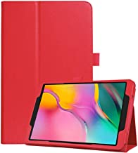 Case for Samsung Galaxy Tab S5e 10.5 SM-T720 T725 10.5 Inch Smart Cover Etui with Stand Feature Red