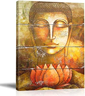 Best buddha with lotus flower painting Reviews