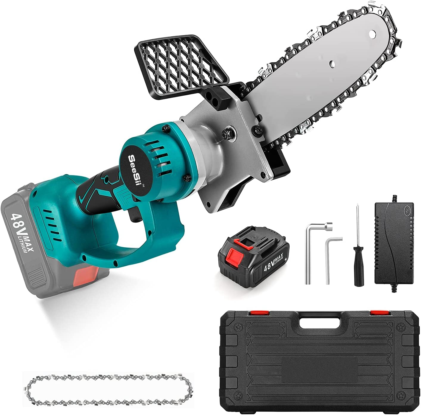 Seesii Mini Brushless Chainsaw 8 sold out ch Ranking TOP17 Cordless Electric Inch hand