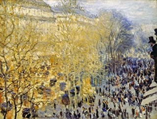 Monet Carnival 1873 Nclaude Monet Carnival In Boulevard Des Capucines Oil On Canvas 1873 Poster Print by (24 x 36)